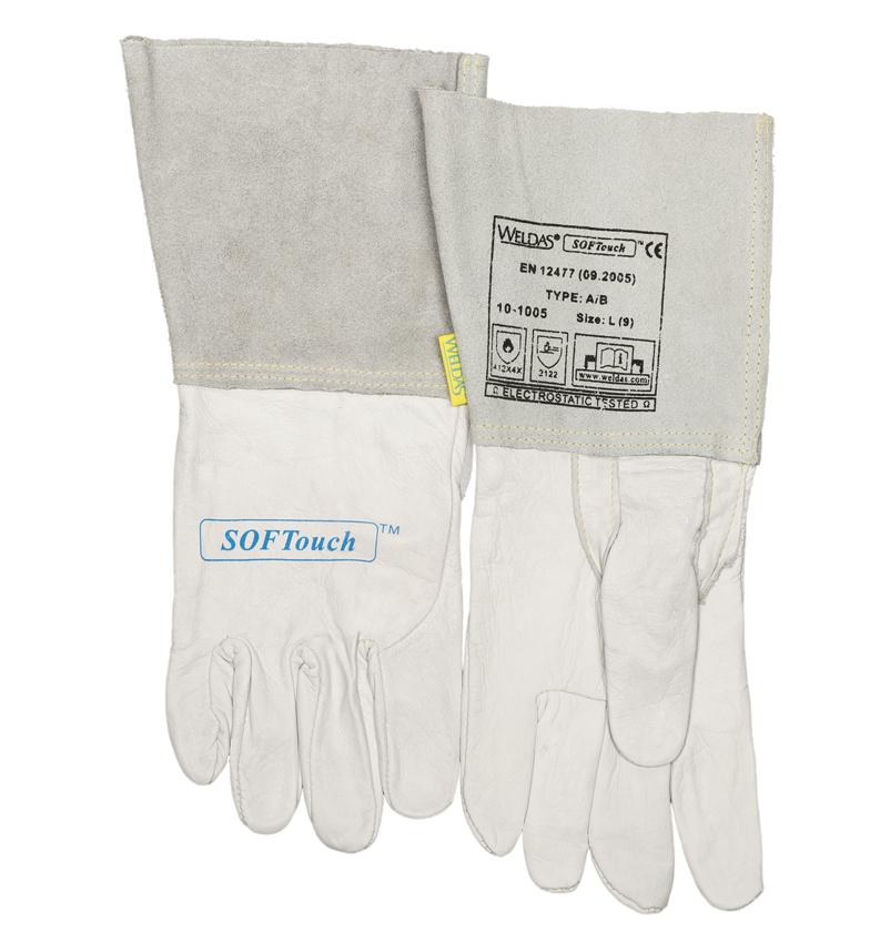 10-1005 SOFTouch Svářecí rukavice přední