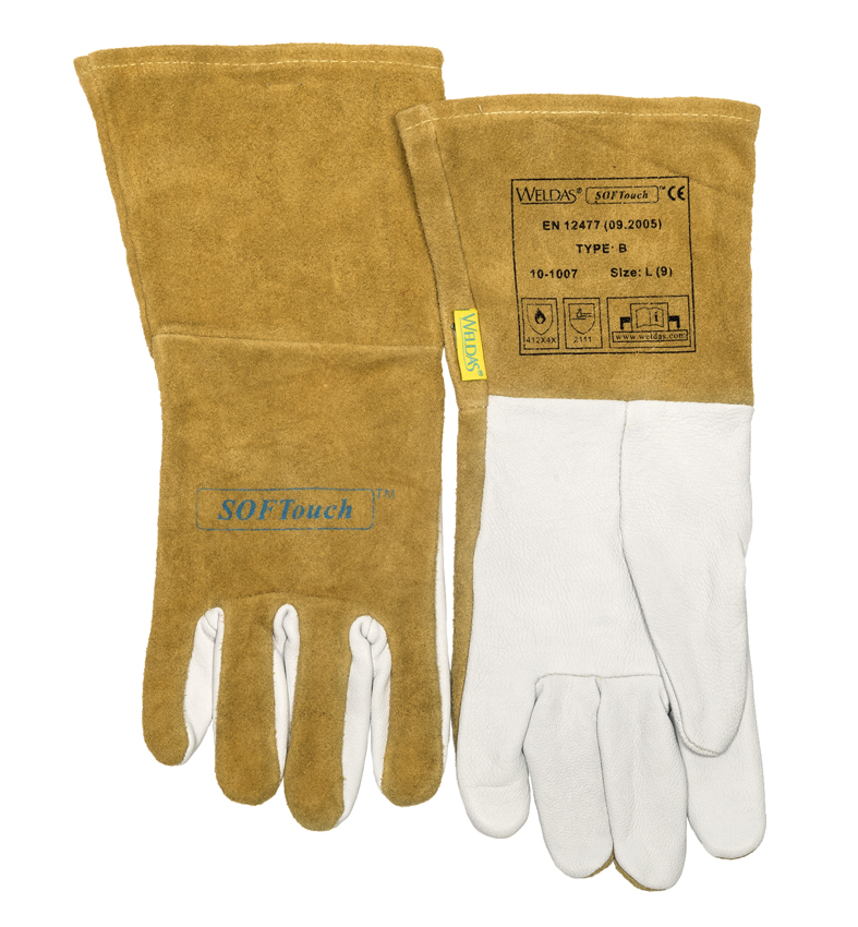 10-1007 SOFTouch Welding glove front