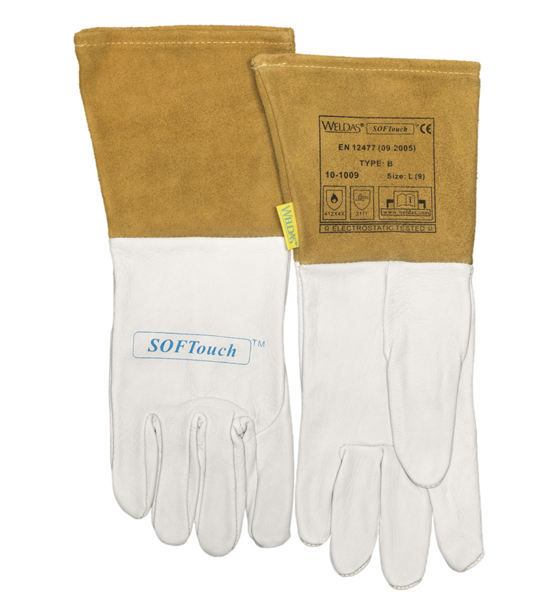 10-1009 SOFTouch Welding glove front