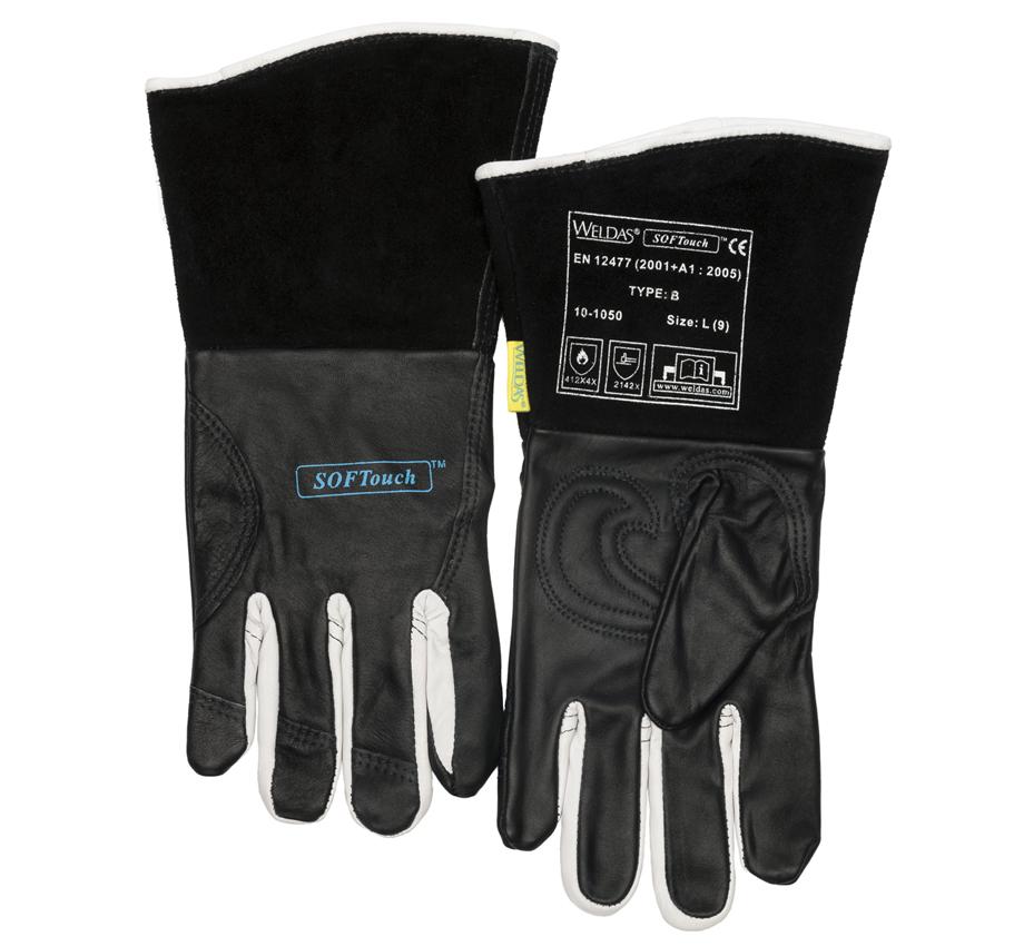 2019 authentisch für die ganze Familie attraktive Farbe TIG SOFTouch welding gloves | Weldas Europe