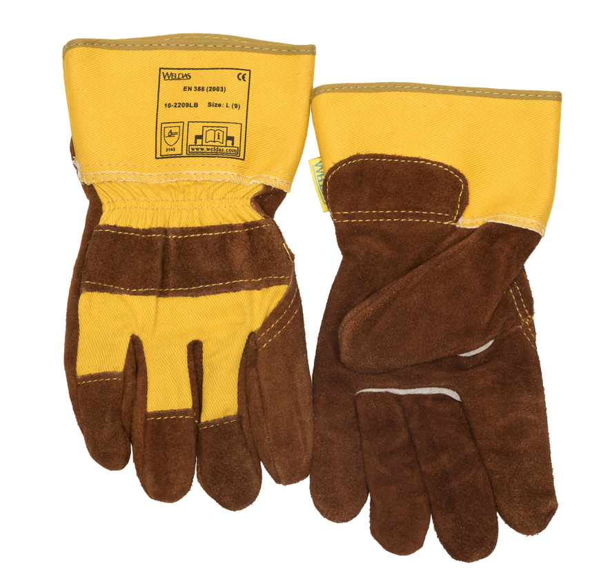 10-2209LB Leather palm working glove front