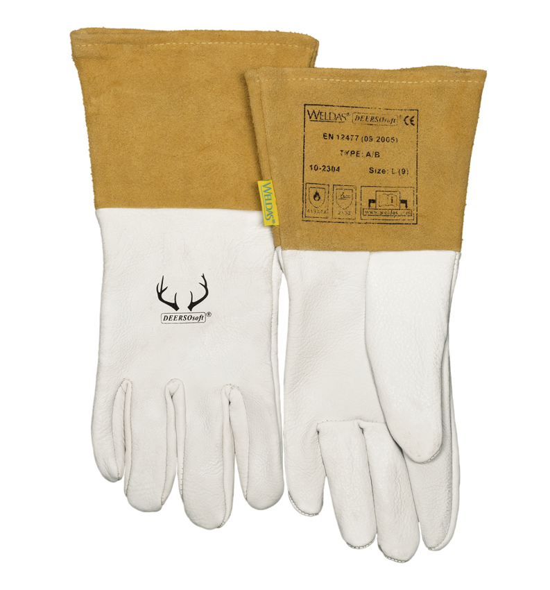10-2304 DEERSOsoft Welding glove front