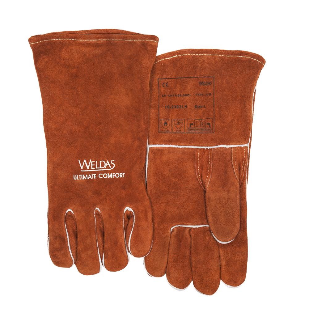 10-2392 Svářecí rukavice přední