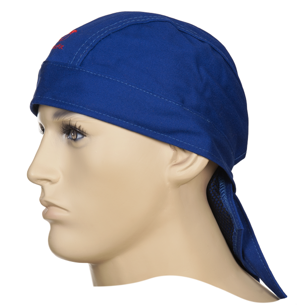 23-3612 Fire Fox welding Doo-Rag front