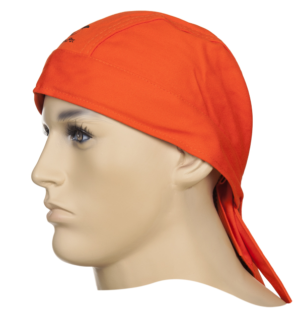23-3613 Fire Fox welding Doo-Rag front