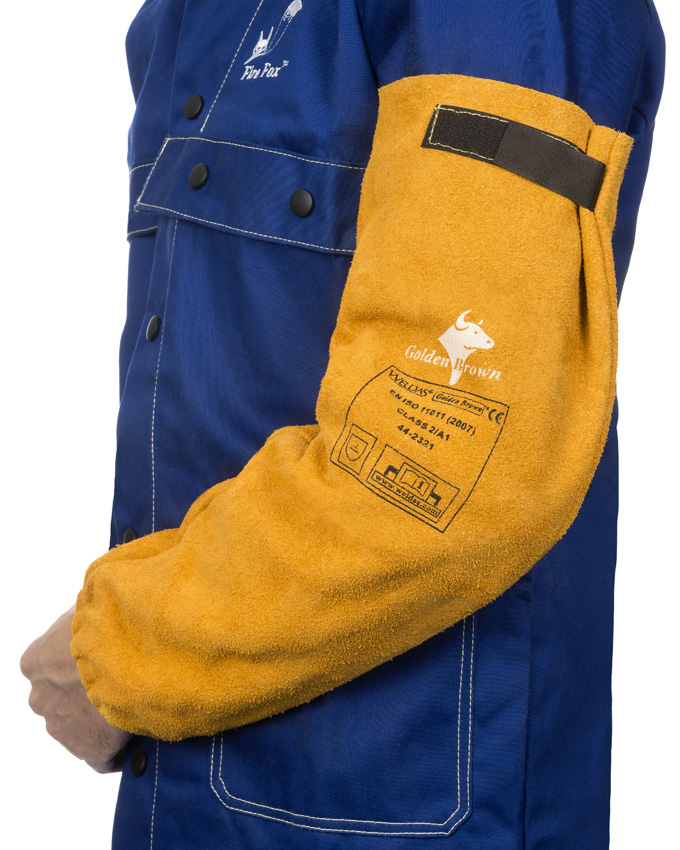 44-2321 Golden Brown welding sleeves (pair) front