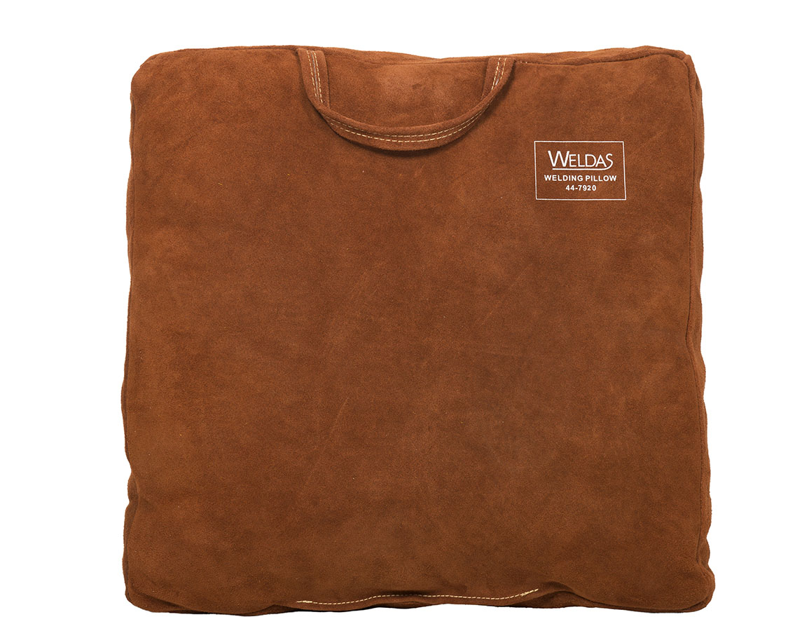 44-7920 Lava Brown welding pillow front