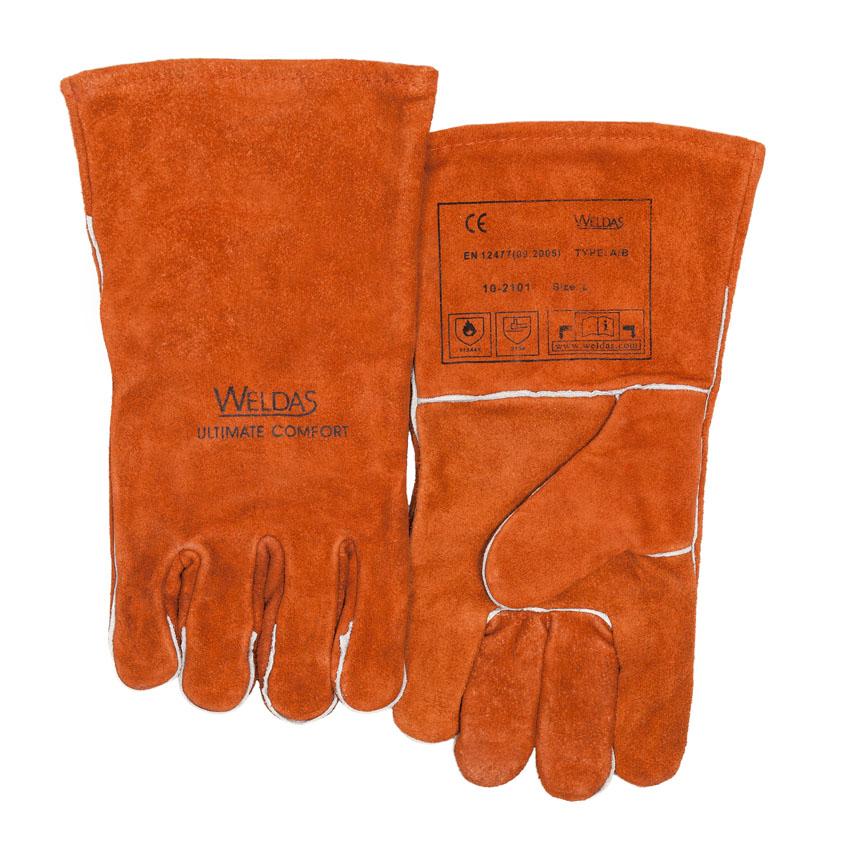 10-2101 welding glove front
