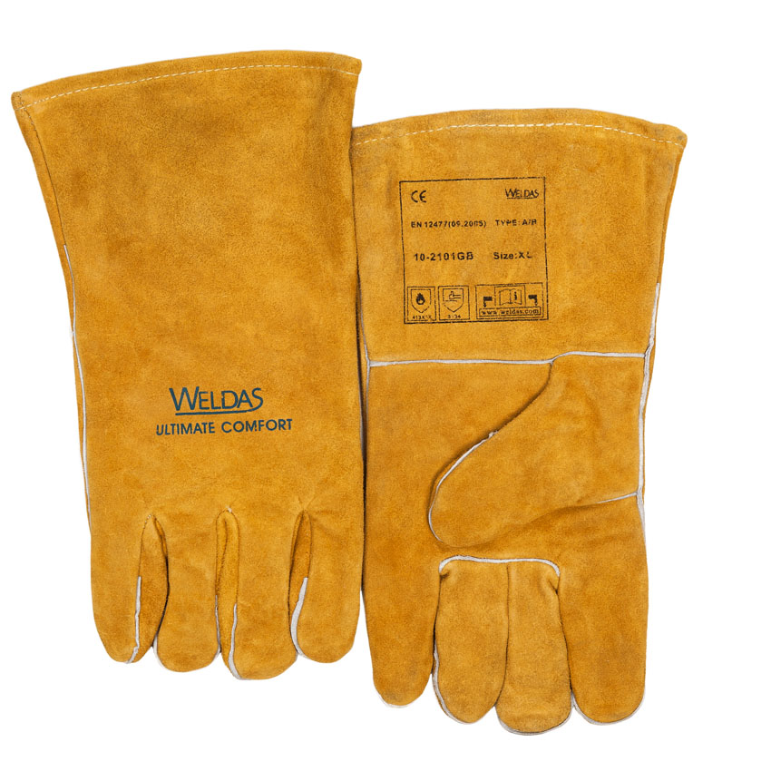 10-2101GB welding glove front