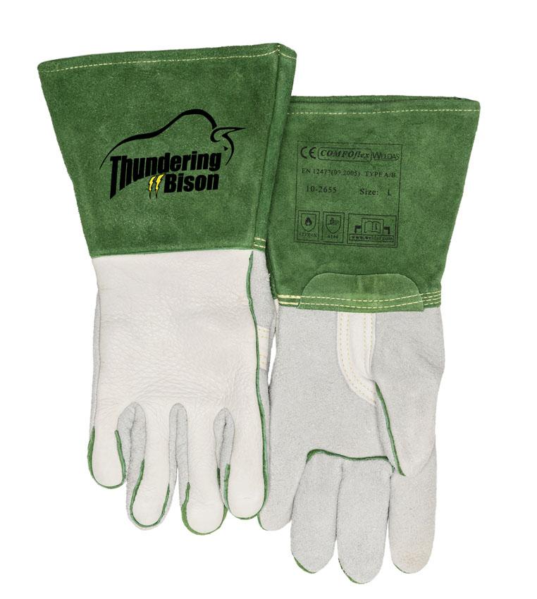10-2655 ThunderingBison Svářecí rukavice přední
