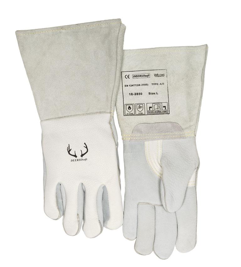 10-2850 DEERSOsoft welding glove front