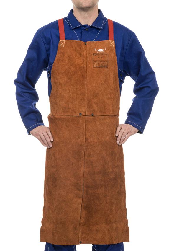 44-71.. STEERSOtuff welding bib apron front