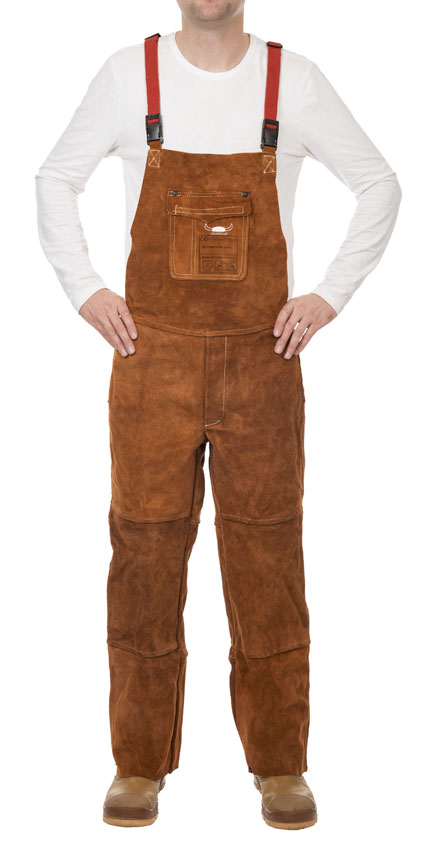 44-7440/7648 STEERSOtuff welding pants with breast protection front
