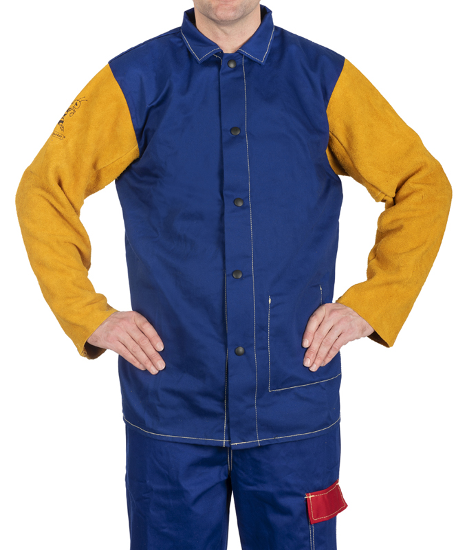 33-3060 Yellowjacket welding jacket front