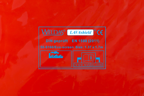 55-6166/Eco-screen LAVAshield welding screen front