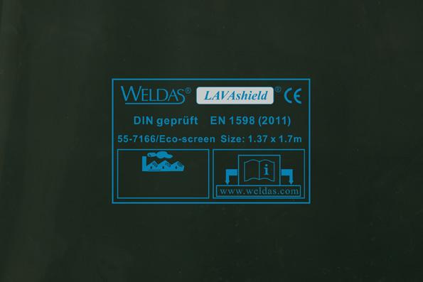 55-7166/Eco-screen LAVAshield welding screen front