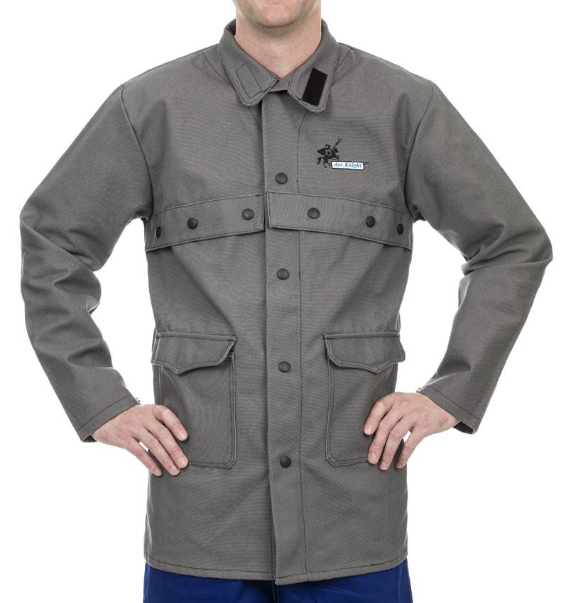 38-4330 Arc Knight welding jacket front