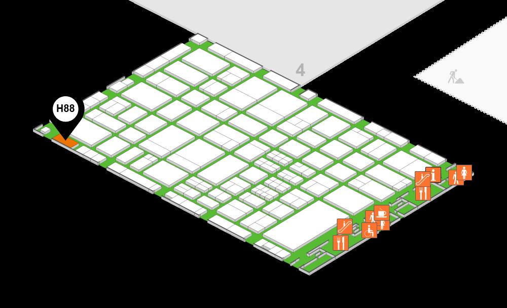 Hall map 3